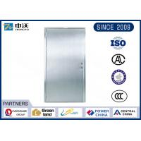 Long Life Sliver Stainless Steel Fire Rated Doors For Cinema Lectrical Room