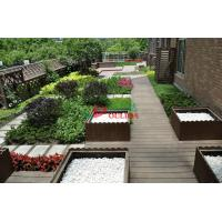 China Recyclable 100% Wood Plastic Composite Lumber , Composite Timber Decking Corrosion Resistance wholesale
