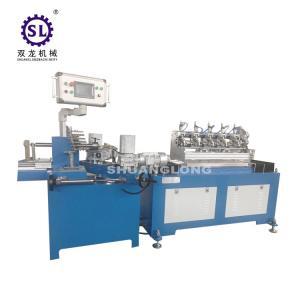China Safty Multi Cutters Drinking Paper Straw Making Machine Per Minute 200 Pcs on sale