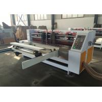 China Carton  Box Making Thin Blade Slitter Machine  / Vacuum  Corrugated Paperboard Thin Blade Creasing Machine wholesale