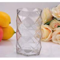 China Clear Diamond replacement votive glass candle holders By Mouth Blown Processing wholesale