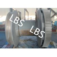 China High Strength Steel Anchor Winch Drum / Rope Winch Drum RINA NK Approved wholesale