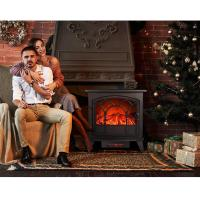 China 3 SIDED FLAME WOODEN BURNING ND-182CLA BIG SIZE FREESTANDING ELECTRIC STOVE,FIREPLACE LED FLAME ROOM HEATER wholesale