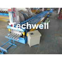 China Galvanized Steel Floor Deck Roll Forming Machine for Making Steel Structure Floor Decking Panel wholesale