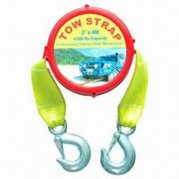 China Heavy-duty Tow Strap/Towing Strap, BS of Tow Strap not More Than 5000lbs wholesale