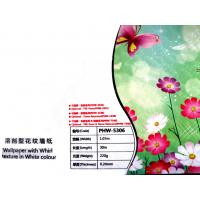 China PVC Eco Friendly Wallpaper Solvent , Inkjet Printing Media wholesale