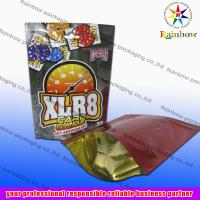 Quality Updated Stand Up Ziplock Aluminum Foil Pouch Bag For Packaging for sale