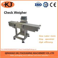China High Accuracy Weight Check Machine , Inline Check Weighing Systems Easy Operate on sale