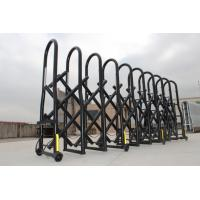 China Temporary Retractable Security Crowd Control Gates Fences With Braking Mechanism wholesale