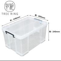 "Buy cheap Transparent Useful Box Plastic Storage Box,44*30*24 cm, 17.3"" *11.8""*9.5"" ,Clear from wholesalers"