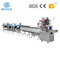 China High Efficiency Pillow Packing / Cheese Block Sachet Biscuit Packing Machine on sale