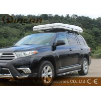 Quality Hard Shell Fiberglass Car Roof Top Tent / Jeep Roof Rack Tent With Fiber Glass for sale