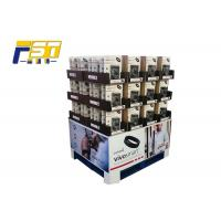 China Two Sides Recyclable Cardboard Pallet Display , Corrugated Pallet Display For Advertisement wholesale
