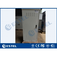 Buy cheap IP55 Galvanized Steel Integrated Outdoor Telecom Cabinet 19 Inch Rack from wholesalers