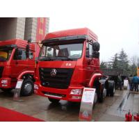 China Safety 30T 371HP 6X4 Prime Mover Truck Weather Resistance MODEL ZZ4255N3246B1 wholesale
