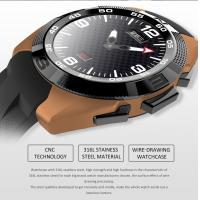 Buy cheap Sports Style LED Smart Watch Net size 42.5*51*10.5mm TPU material from wholesalers