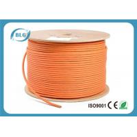 China 600 MHz Cat 7 Cable 1000 FT , Cat 7 Shielded Ethernet Cable HDPE Insulation wholesale