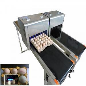 China Barcode Egg Printer / Continuous Tray Egg Food Inkjet Printer Chinese Made wholesale