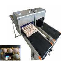 China Variable Speed Automatic Egg Stamping Machine With Multiple High Effect wholesale
