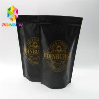 China Stand Up Plastic Pouches Packaging Coffee Bag With Zipper And Valve wholesale