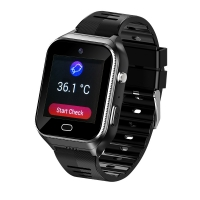 China Elderly People smart watch With SIM Android OS 4G GPS tracking SOS GEO heart rates monitor, temperature monitor wholesale