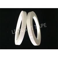 China Custom White Transformer Insulation Tape With Acrylic Pressure - Sensitive Adhesive wholesale