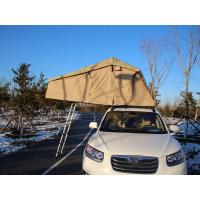China Extension Folding 4x4 Roof Top Tent With Stainless Steel Pole Material wholesale