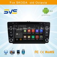 China Android 4.4 car dvd player GPS navigation for Skoda Octiva/ Octava with dvd bluetooth ipod wholesale