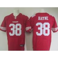 China supply nike nfl 49ers 38 Hayne elite jersey cheap price high quality wholesale