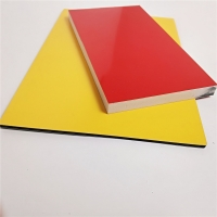 China 4mm Thick Wood Grain Aluminum Core Panel For Indoor And Outdoor Decoration wholesale