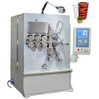 China Computerized CNC Big Compression Spring Coiling Machine With Six Axis Grey White on sale