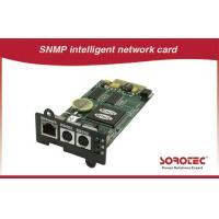 China SNMP card UPS Accessories benefit for automatization and network management wholesale