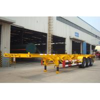 China 40 Foot Straight Frame Container Chassis - TITAN VEHICLE wholesale