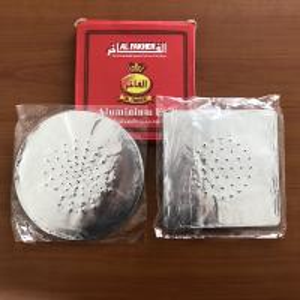 China Square Hookah Foil with Holes,hookah aluminum foil paper,hookah aluminum sheet on sale