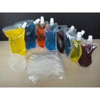 China 4oz 8oz 16oz 32oz PA/PE Stand up Transparent  Spout Bag for Wine Packaging wholesale