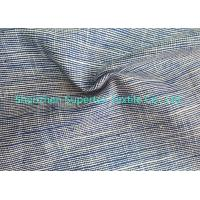 China Cotton Soft Linen Fabric Wholesale 2 Tone Slub In Yarn Dyed 220GSM wholesale