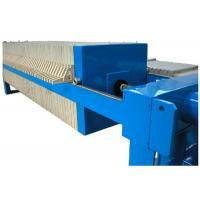 China Manual Hydraulic Closing Plate And Frame Filter Press For Industrial Waste Treatment on sale