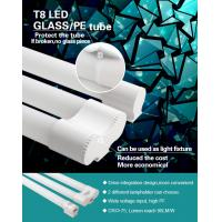 Quality Simple installation  T8LED fluorescent fixture covered PET film for sale