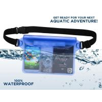 Men / Women Waterproof Pouch Bag Waterproof Waist Bag For Beach And Swimming