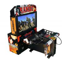 Buy cheap Rambo Electronic Coin Operated Indoor Arcade Video Simulator Gun Shoot Game from wholesalers