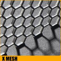 China 1.22x1.22m anodizing diamond perforated sheet metal for Africa wholesale