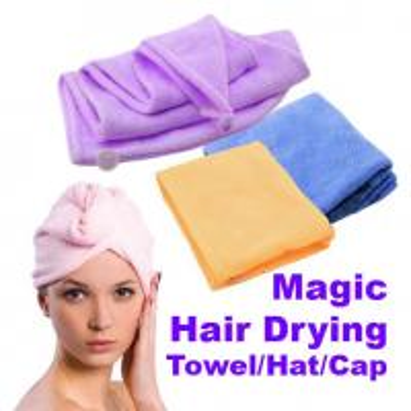 Quality Magic Quick-Dry Hair Towel Hair-drying Ponytail Holder Cap Towel Bath Towel Hair Towel for sale