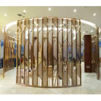 China metal artwork gold stainless steel decorative panel made in china wholesale