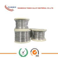 China Stranded Nicr Alloy , Nichrome Heating Wire Bright Annealed Soft 0.018-10mm diamter wholesale