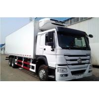 Buy cheap 20 Tons Load Heavy Cargo Truck SINOTRUK 6x4 HOWO Refrigerated Truck from wholesalers