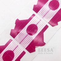 China Paper Nail Art Form High Sticky Nail Extension Holder For Salon wholesale