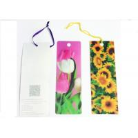 Quality Recyclable 3D Lenticular Business Card Printing Good Flip Effects for sale