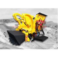 China Pneumatic Air Rock Loading Machine 0.26 M3 Bucket Volume With Air Motor wholesale