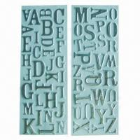 China Alphabet puffy stickers with sponge, non-toxic, fashionable design, OEM/ODM orders are welcome wholesale