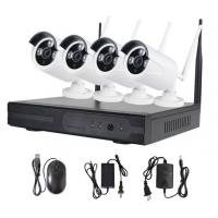 4CH 7WIFI Home Security Camera Systems / Nvr Surveillance System